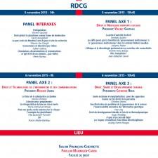 RDCG affiche